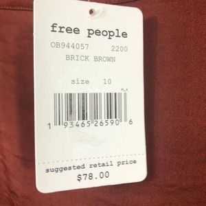 Free People Skirts - Free People Lola Asymmetrical Slit Skirt